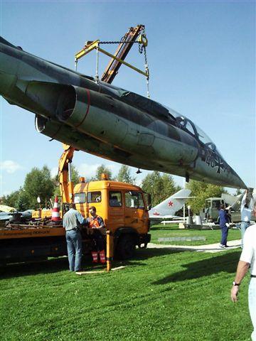 Kran Flugzeug Albrecht